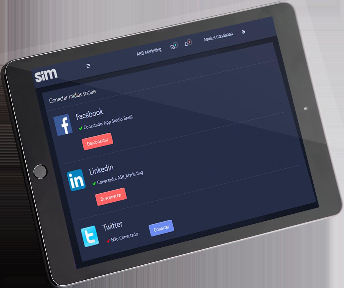 SiM - Plataforma de Marketing Digital