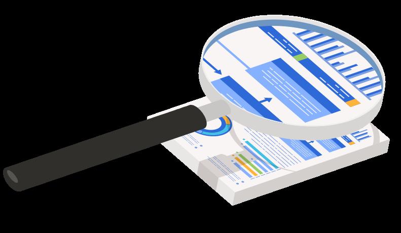 Análise de dados e entrega de relatórios mensais